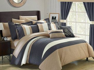 Chic Home Covington 24 Pc King Comforter Set Bedding