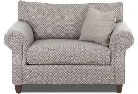 klaussner home furnishings oversized Huda way chair with matress