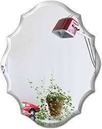 mirror trend emma wall mirror 2 pc 2x28 glass