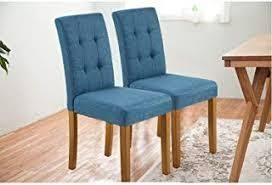 carlin dining chairs set of 4 blue studded