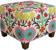 skyline furniture santa maria desert flower foot stool