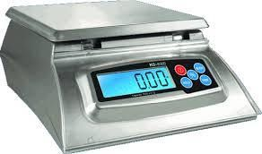 Kitchen Scale   Bakers Math Kitchen Scale   KD8000 Scale by My Weight  Silver