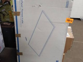 lithonia lighting Contractor Select 2 ft  x 4 ft  6000 lumens White Integrated lED Surface Mount Panel light Fixture  3500K