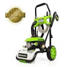 green works pressure washer 1800 psi