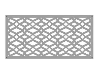 Freedom  Common  x 24 in x 4 ft  Actual  0 3 in x 23 875 in x 3 989 ft  Celtic Clay Vinyl Decorative Screen Panel 3 pcs