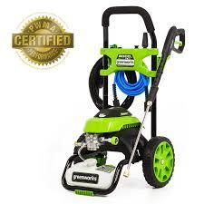 green works pressure washer 2000 psi
