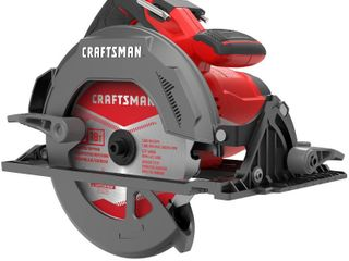 Craftsman 7 1 4 in  15 amps Corded lightweight Circular Saw 5500 rpm 11 15 lb  Red