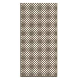 Barrette Brown Privacy Vinyl lattice  Common  0 2 in x 4 ft x 8 ft  Actual   19 in x 4 ft x 8 ft