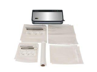 FoodSaver FM24350ECR Vacuum Sealer System with Handheld Sealer and Starter Kit   FoodSaver