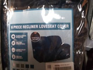 6 Piece Recliner loveseat Cover