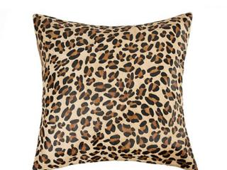 18 Inch Indoor Outdoor leopard Print Pillow