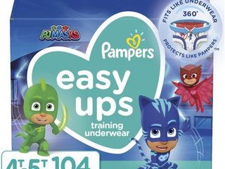 Pampers Easy Ups Boys Training Pants One Month Supply