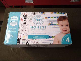 Honest Diapers 120 Count 22 37 lbs