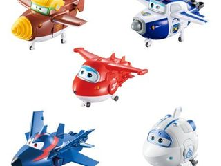 Super Wings Transforming Characters Collector s 5 Pack