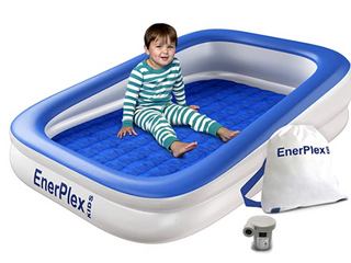 EnerPlex   Kids Inflatable Bed With Pump