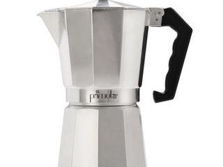 Primula 12 Cup Espresso Coffee Maker   Silver