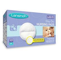 lansinoh Disposable Stay Dry Nursing Pads  100 Count