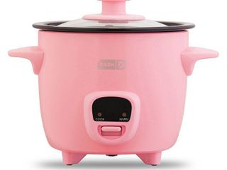 Dash 2 Cup Mini Rice Cooker  Pink