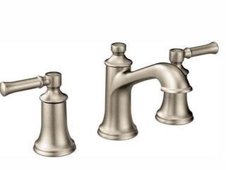 Darmatoor Brushed Nickel 2 Handle Wide Spread lavatory Faucet Trim