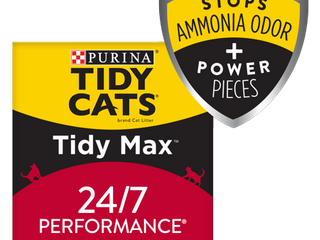 Purina Tidy Cats Clumping Cat litter  Tidy Max 24 7 Performance Multi Cat litter   38 lb  Box