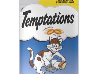 Temptations Cat Treats   Hair Ball Control Chicken  2 1 oz