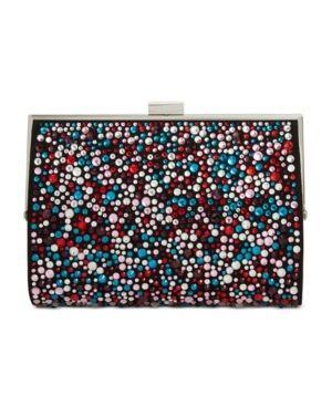 Inc loryy Embellished Sparkle Clutch