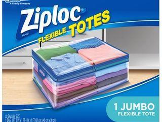 Ziploc Flexible totes  Jumbo  1 Count