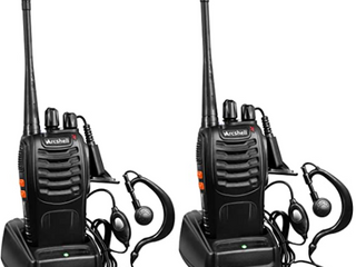 ARCSHEll TWO WAY RADIOS UHF TRANSCEIVERS AR 5 2 PACK