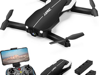 Jjrc Foldable Drone With Optical Flow Positioning With 1080p Hd Camera Black