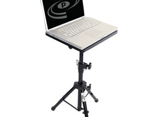 PylePro PlPTS2 Notebook Stand   Gloss   Steel   Black   Pyle