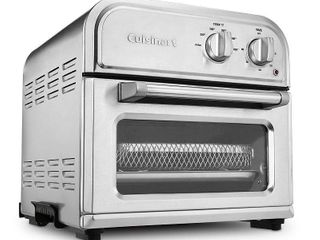 Cuisinart Compact AirFryer Toaster Oven   Stainless Steel   AFR 25TG