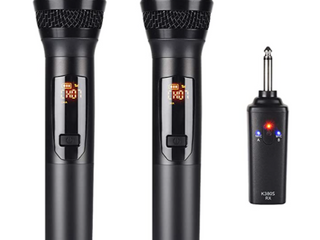 MICROPHONE WIRElESS PORTABlE K380S