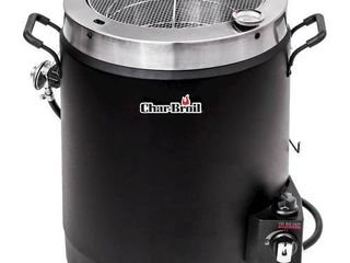 Outdoor Cooker And Fryer Char broil Black
