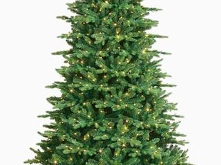 GE 7 5 ft Aspen Fir Pre lit Traditional Slim Artificial Christmas Tree with 750 Multi Function Color Changing lED lights Retail   298 00