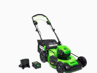 Greenworks Pro 60 Volt Cordless Self Propelled lawn Mower