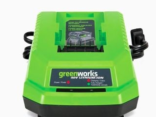 Greenworks Charger with 2 Batteries