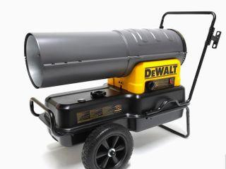 Dewalt Heater 140 000 BTU Forced Air Kerosene Diesel Construction Heater  Doesn t Turn On