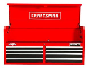 Craftsman 2000 Series 51 5 in W x 24 5 in H 8 Drawer Steel Tool Chest  Red Retail 398 00
