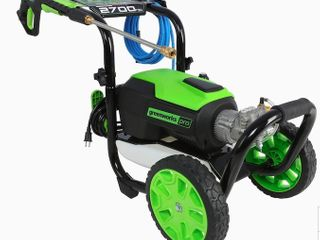 Greenworks 2700 PSI 2 3 GPM Cold Water Electric Pressure Washer