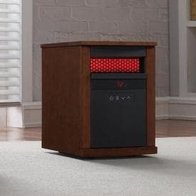 Duraflame 5 200 BTU Infrared Quartz Cabinet Electric Space Heater with Thermostat