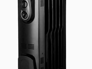 OmniHeat 1500 Watt Oil filled Radiant Flat Panel Electric Space Heater