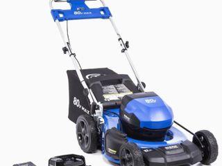 Kobalt Brushless 80V lawnmower  No Bag or Battery Charger