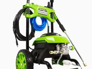 Greenworks Gpw2006 2000psi 1 2gpm Cold Water Electric Pressure Washer  Retail 199 00