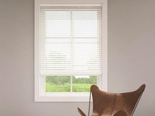 levolor 2 in White Faux Wood Blinds  Precut To 24 1 4X 64