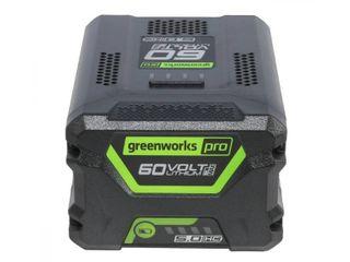Greenworks Pro 60 Volt Cordless lithium Ion 5 0 Ah Battery