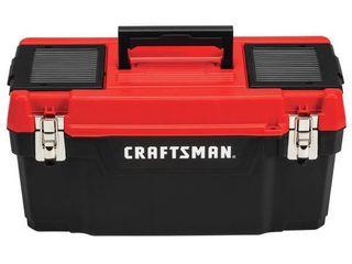 Craftsman 20 in  Plastic Tool Box