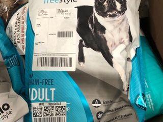 Nulo Freestyle Grain Free Adult Salmon   Peas Dry Dog Food  11 lb