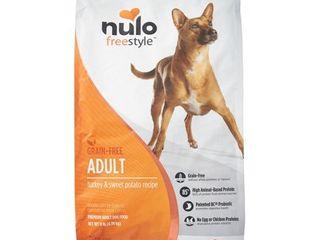 Nulo Freestyle Grain Free Turkey   Sweet Potato Dry Dog Food  11 lb