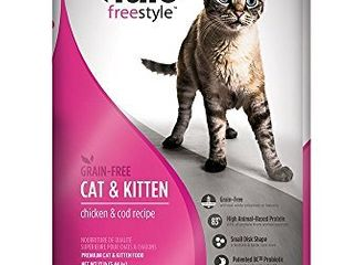 Nulo Freestyle Grain Free Chicken   Cod Dry Cat Food  12 lb