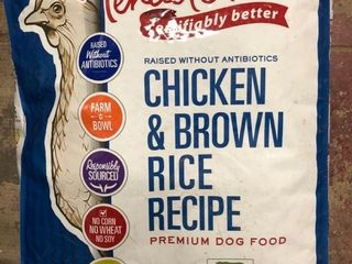 Tender   True Chicken   Brown Rice Recipe Dry Dog Food  23 lb bag